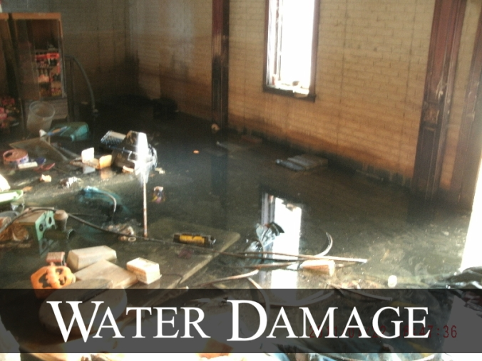 Water Loss – Black Water Damage in Florida